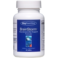 BrainStorm by Allergy Research Group - 60 tablets