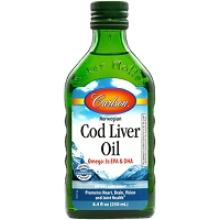 Cod Liver Oil Regular Flavor by Carlson Labs - 250 ml