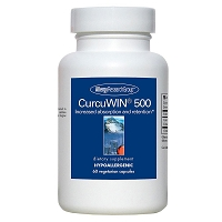 CurcuWin 500 by Allergy Research Group - 60 vegetarian capsules
