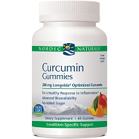 Curcumin Gummies - Mango by Nordic Naturals - 60 Gummies