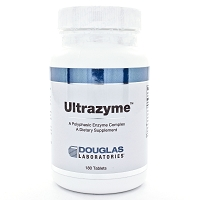 Ultrazyme by Douglas Labs 180 Tablets