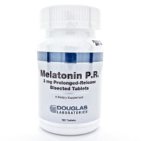 Melatonin P.R. 3mg by Douglas Labs 180 Tablets