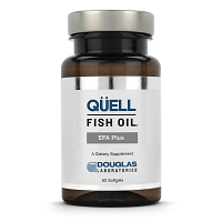 QUELL Fish Oil EFA Plus by Douglas Labs -  60 softgels