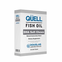 QÜELL Fish Oil DHA by Douglas Labs - 36 Soft Chews