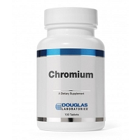 Chromium 1mg by Douglas Labs - 100 Tablets