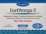 EurOmega-3 by Euromedica - 60 Tablets