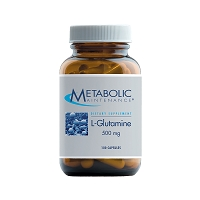 L-Glutamine 500mg Metabolic Maintenance - 100 Capsules