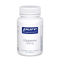 L-Glutamine 500mg by Pure Encapsulations - 90 Capsules