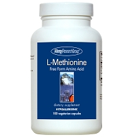 L-Methionine by Allergy Research Group - 100 vegetarian capsules