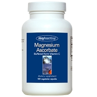 Magnesium Ascorbate by Allergy Research Group - 100 vegetarian capsules