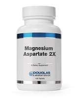 Magnesium Aspartate 2x by Douglas Labs - 250 Tablets