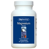 Magnesium Citrate by Allergy Research Group - 90 vegetarian capsules