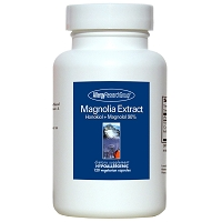 Magnolia Extract (Honokiol + Magnolol 90%) by Allergy Research Group - 120 vegetarian capsules