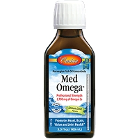 Med Omega Fish Oil by Carlson Labs - 3.3 fl oz