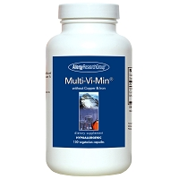 Multi-Vi-Min W/O Copper & Iron by Allergy Research Group - 150 vegetarian capsules