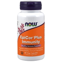 EpiCor Plus Immunity by Now Foods - 60 Capsules