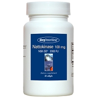 Nattokinase 100 mg by Allergy Research Group - 60 vegetarian softgels