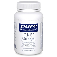 O.N.E. Omega by Pure Encapsulations - 60 Softgels
