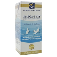 Omega-3 Pet (Cats and small dogs) by Nordic Naturals - 2 fl. oz.