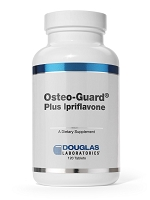 Osteo-guard + Ipriflavone by Douglas Labs - 120 Tablets