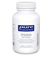 EPA/DHA 900mg with lemon by Pure Encapsulations - 120 Soft Gels
