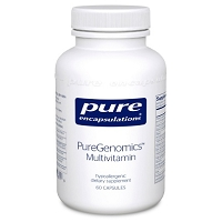 PureGenomics Multivitamin by Pure Encapsulations 60 Capsules