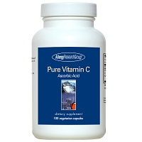 Pure Vitamin C by Allergy Research Group - 100 Capsules