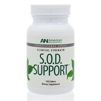 SOD Support by American Nutriceuticals - 190 Tablets