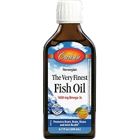 Carlson Kids The Very Finest Fish Oil - Orange - Carlson Labs - 200ml