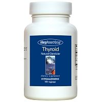 Thyroid Natural Glandular by Allergy Research Group - 100 vegetarian capsules
