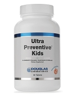 Ultra Preventive Kids (Chewable) Orange or Grape Flavor by Douglas Labs - 60 Chewable Tablets