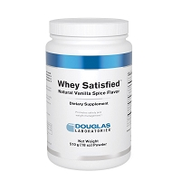 Whey Satisfied by Douglas Labs - Vanilla Spice - 30 Servings