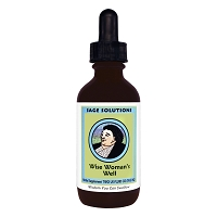 Wise Woman's Well (Liquid) - Sage Solutions by Wise Women Herbals - 2 fl. oz.