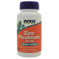 Zinc Picolinate 50 mg by Now -120 Capsules