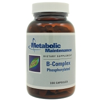 B Complex Phosphorylated by Metabolic Maintenance 100 Capsules