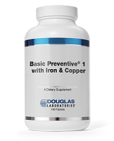 Basic Preventive 1 (Plus Iron and Copper)  by Douglas Labs  180t
