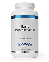 Basic Preventive 5 By Douglas Labs.  270 Capsules
