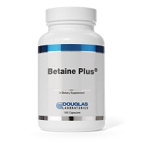 Betaine Plus by Douglas Labs - 100 or 250 Capsules