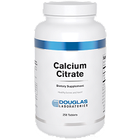 Calcium Citrate by Douglas Labs - 250 Tablets