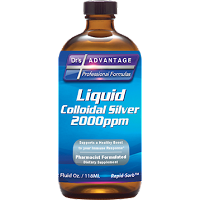 Liquid Colloidal Silver 2000 ppm by Dr's Advantage - 2 oz