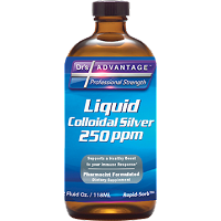 Liquid Colloidal Silver 250 ppm by Dr's Advantage - 2 oz
