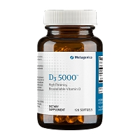 D3 5000 by Metagenics 120 Softgels
