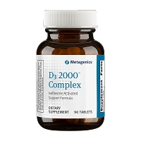 D3 2000 Complex by Metagenics 90 Tablets