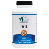 DGL by Ortho Molecular Products - Chewable 60 Tablets