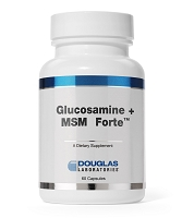 Glucosamine + MSM Forte by Douglas Labs 60 Capsules