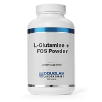 L-Glutamine + FOS Powder by Douglas Labs - 250g