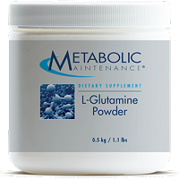 L-Glutamine Powder by Metabolic Maintenance - 500 Servings
