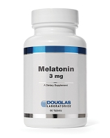 Melatonin 3mg  by Douglas Labs 60 Capsules