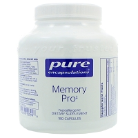 Memory Pro by Pure Encapsulations 90 or 180 Capsules
