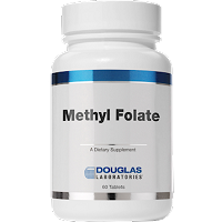 Methyl Folate (L-5-MTHF) 1,000mcg by Douglas Labs 60 Tablets